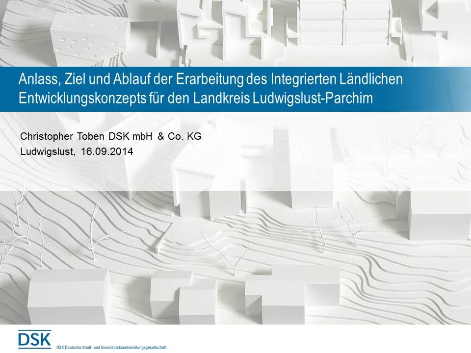 Präsentation Ziel und Ablauf Ludwigslust