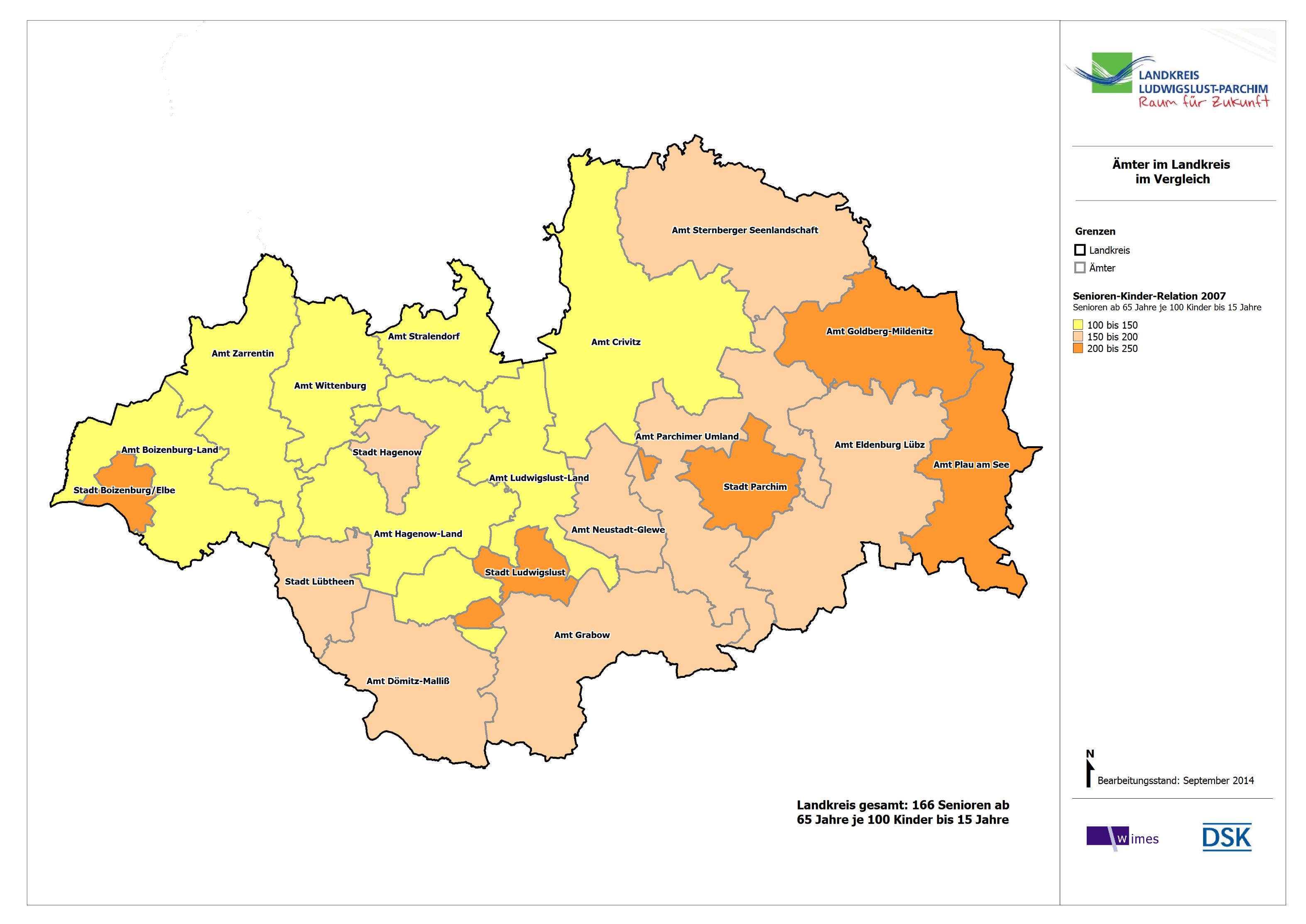 Einwohnerzahl Parchim